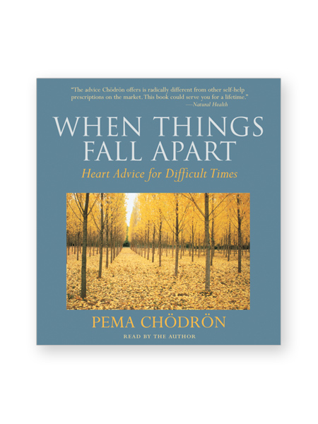 things fall apart fear How can we live our lives when everything seems to fall apart—when we are continually overcome by fear, anxiety, and pain the answer, pema chödrön.